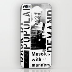 Muscles on Demand (B&W) iPhone & iPod Skin