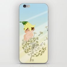 Resting on a dandelion iPhone & iPod Skin