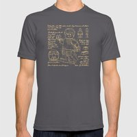 Plan Lego Mens Fitted Tee Asphalt SMALL