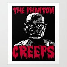 The Phantom Creeps - Robot Art Print