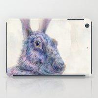 Black Rabbit iPad Case