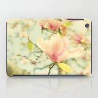 Spring Magnolias iPad Case