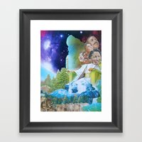Prophecy Of Intergalacti… Framed Art Print