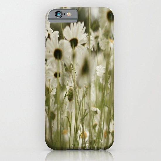white daisies :) iPhone & iPod Case