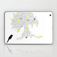 butterfly tree Laptop & iPad Skin