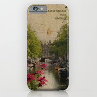 iPhone & iPod Case featuring Amsterdam mon amour by Villaraco