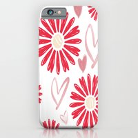 Hearts And Flowers iPhone 6 Slim Case