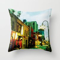 Chinatown Colour Throw Pillow