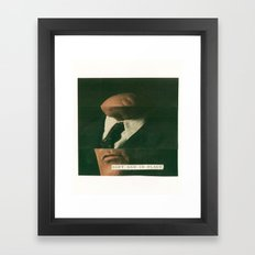 soft and in place Framed Art Print
