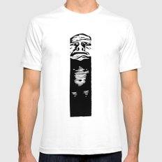The Pit Mens Fitted Tee White SMALL