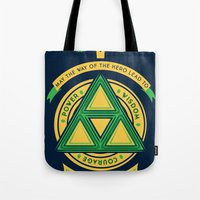 May the way of the hero lead to: Tote Bag