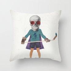 Superhero #9 Throw Pillow