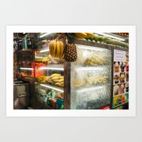 New York City Pineapple - Photography by Jackie Dives Art Print