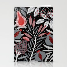 Winter Scene With Summer… Stationery Cards
