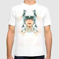Pineal Mens Fitted Tee White SMALL