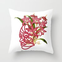 Natural History II Throw Pillow