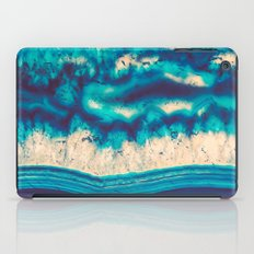 Blue Agate Water Element  iPad Case
