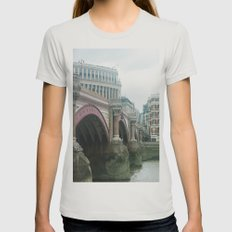 Embankment Womens Fitted Tee Silver SMALL