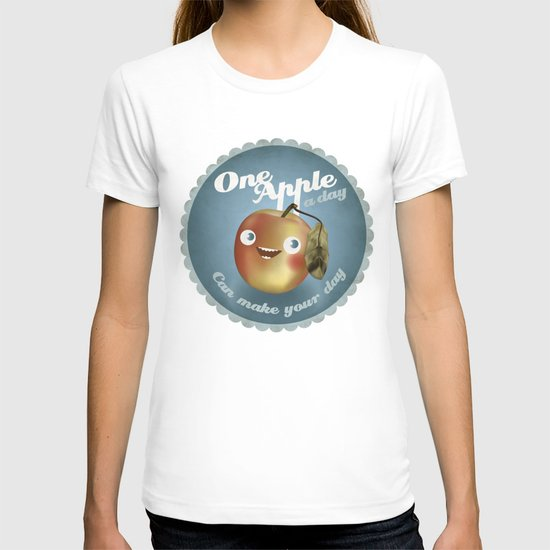 One Apple A Day T-shirt