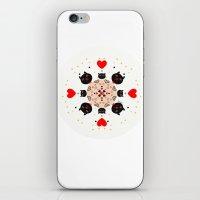 Cat Mandala 1 iPhone & iPod Skin