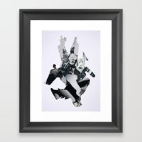 We Are Obsessed With Our… Framed Art Print