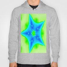 Star Bright Blue & Green Hoody