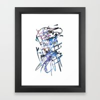 Acuatik Framed Art Print