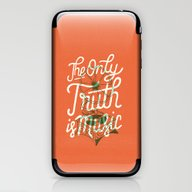 The Only Truth Is Music iPhone & iPod Skin