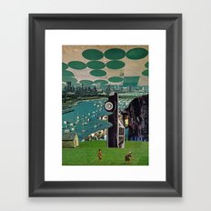 Of the Mountains Framed Art Print