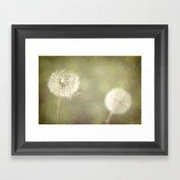 Sweet Dandelions  Framed Art Print