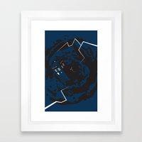 Tardis  - Doctor Who  Framed Art Print