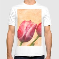 Romance Mens Fitted Tee White SMALL