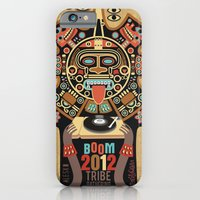 iPhone & iPod Case featuring Mayas Spirit - Boom 2012 by Exit Man