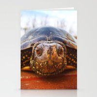 turtle Stationery Cards featuring Turtle by Anna Milousheva