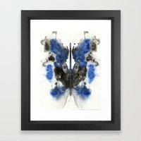 Blue Knight Framed Art Print