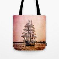 Tall ship Gloria Tote Bag
