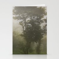A foggy day in Dharamsala, India Stationery Cards