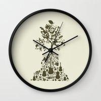 Music Tree Wall Clock
