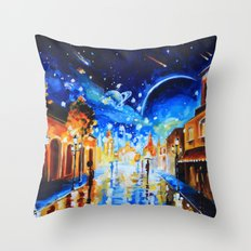 City of Stars Throw Pillow