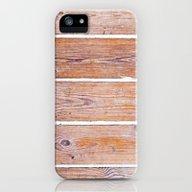 Wooden Boards iPhone (5, 5s) Slim Case