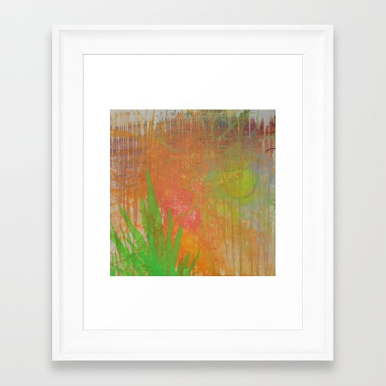 Abstract #75 Framed Art Print
