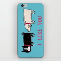 I Like You. iPhone & iPod Skin