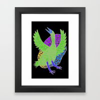 Flying Bird 2 Framed Art Print