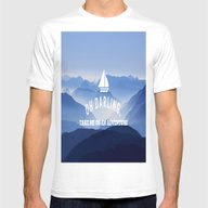 Oh Darling, Lets Go On A… Mens Fitted Tee White SMALL