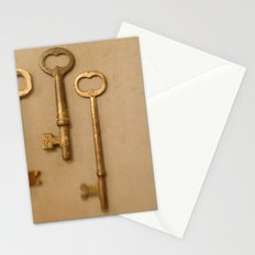 Skeleton Keys Stationery Cards