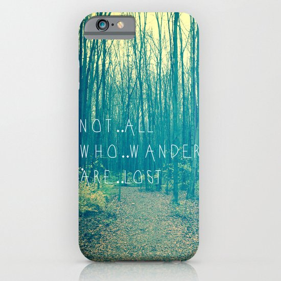 Wander in the Woods iPhone & iPod Case