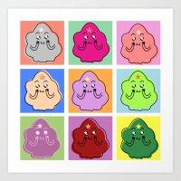 Lumpy Space Prince ala Warhol Art Print