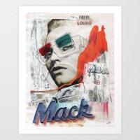 MACK-INTOUCH Art Print
