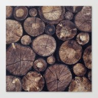 Canvas Print featuring The Wood Holds Many Spir… by Tordis Kayma