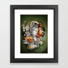 As a lotus Framed Art Print